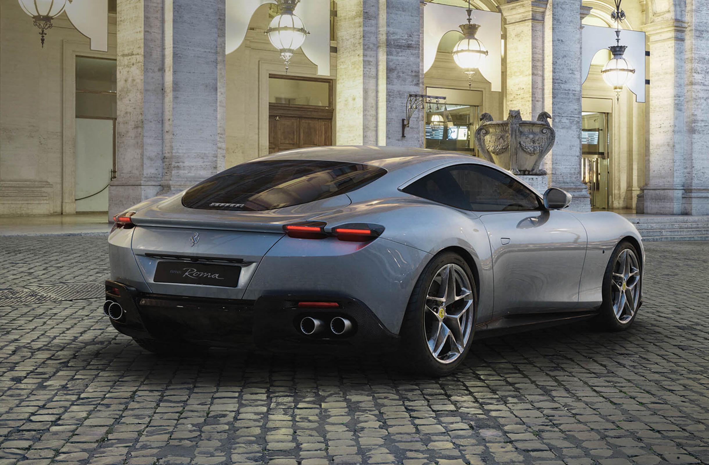 Ferrari Roma Retro 1