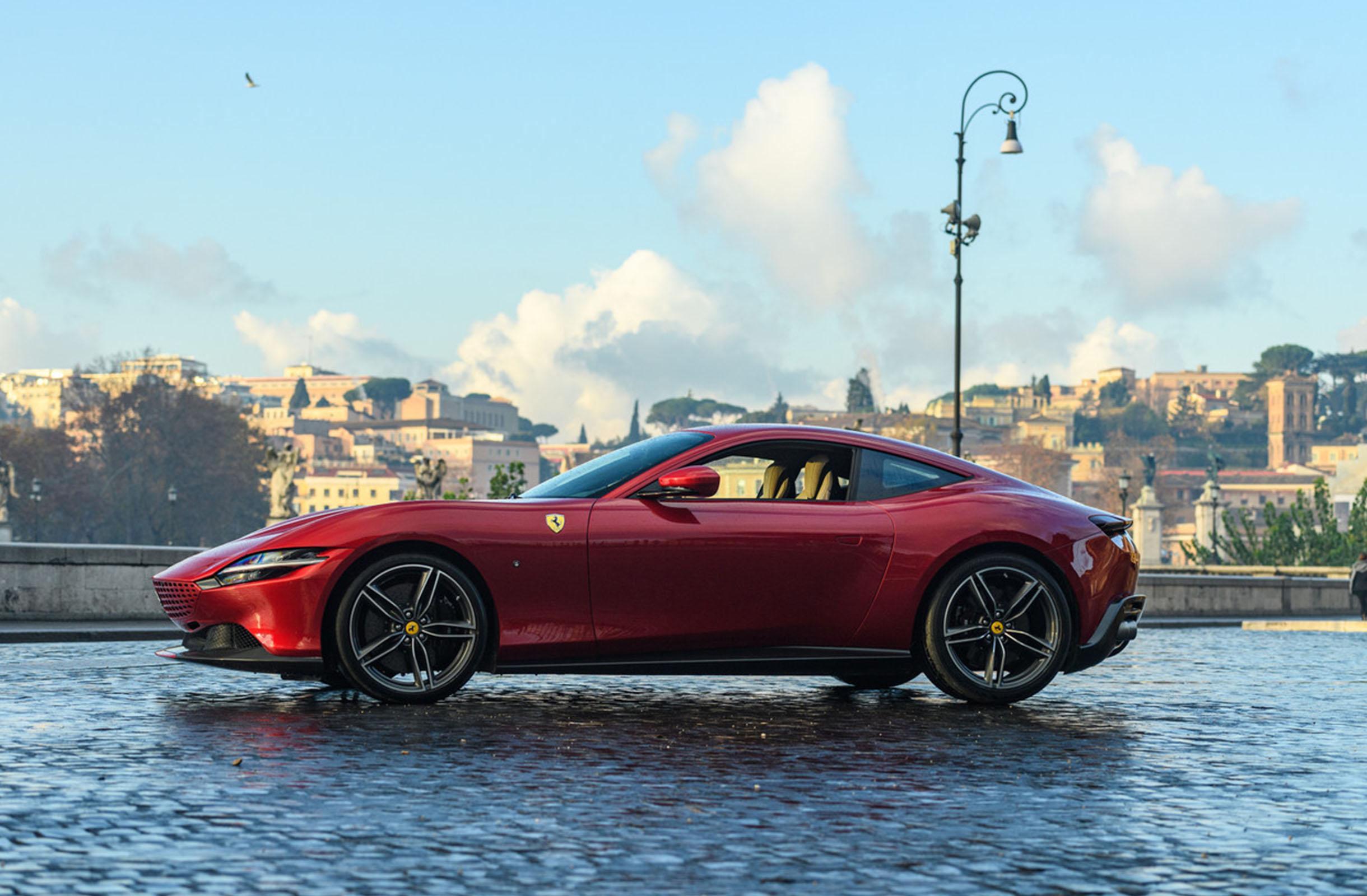 Ferrari Roma front 4